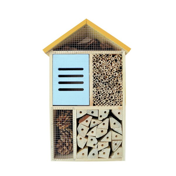 Cedar 5 Chamber Deluxe Insect 17 H x 10 W x 5 D Birdhouse by Nature's Way