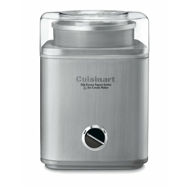 Pure Indulgence 2 Qt. Frozen Yogurt, Sorbet & Ice Cream Maker by CuisinartPure Indulgence 2 Qt. Frozen Yogurt, Sorbet & Ice Cream Maker by Cuisinart