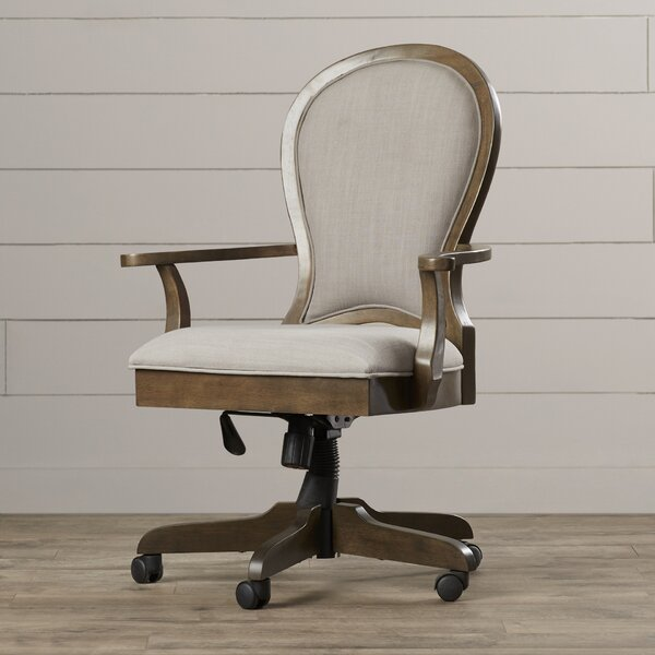 Nesbitt High-Back Desk Chair by Three Posts