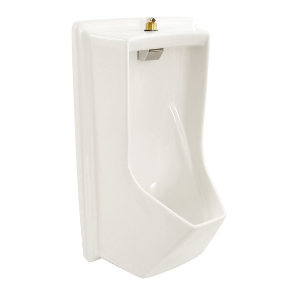 Lloyd ADA Compliant Urinal with Electronic Flush Valve by Toto