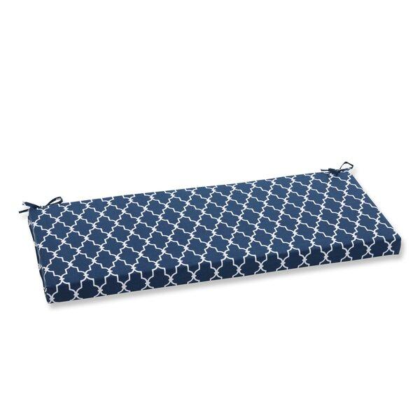 Garden Gate Indoor/Outdoor/Indoor Bench Cushion by Pillow Perfect
