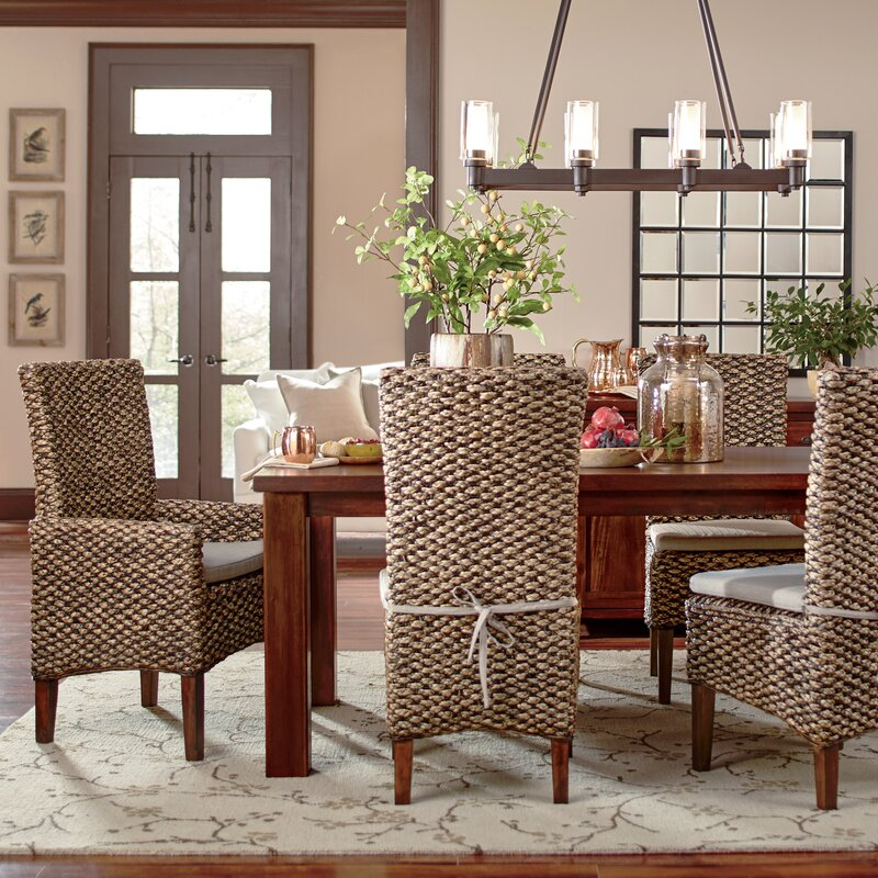 Popular Birch Lane™ Woven Seagrass Arm Chairs & Reviews   Wayfair WK98