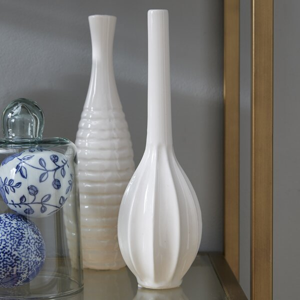 Stoneware 3 Piece Table Vase Set (Set of 3) by Willa Arlo Interiors