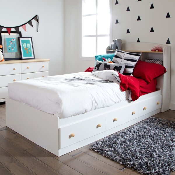 Twin Mates Bed with Drawers by Harriet Bee