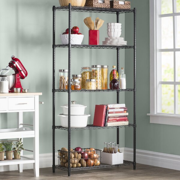 Wayfair Basics 72 H x 36 W 5 Shelf Wire Shelving Unit by Wayfair Basics™