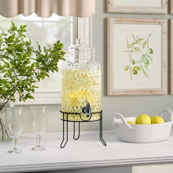 Laurine 2 Piece Beverage Dispenser Set by Laurel Foundry Modern Farmhouse