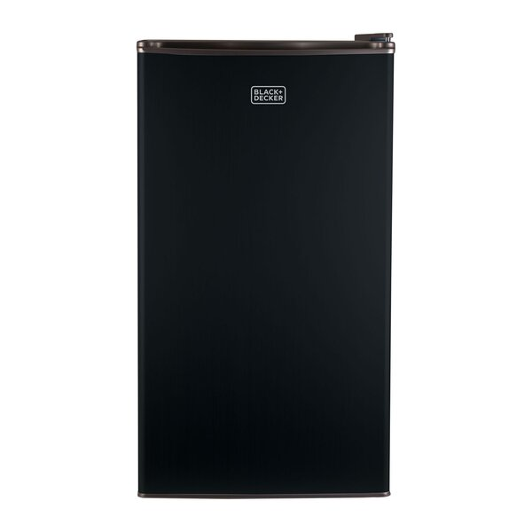 3.2 cu. ft. Compact Refrigerator with Freezer by Black + Decker