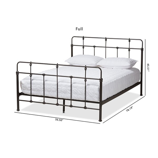 Kesha Platform Bed by Charlton Home