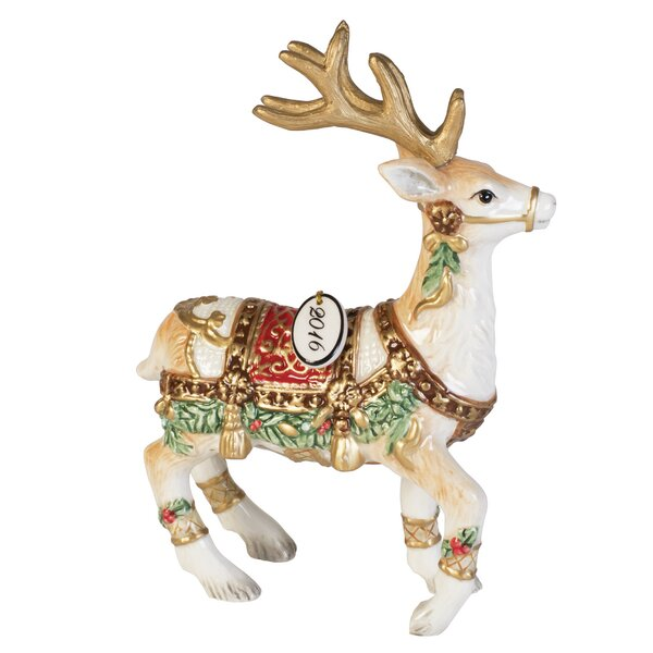 Yuletide Holiday 2016 Dated Figurine by Fitz and Floyd