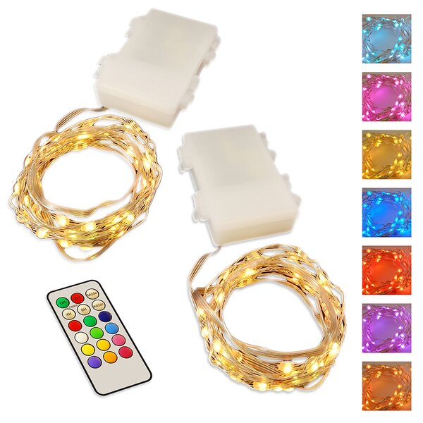 50 Fairy String Lights (Set of 2) by LumaBase