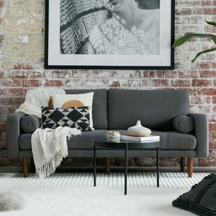 Mid Century Sofa with USB by Capsule Home