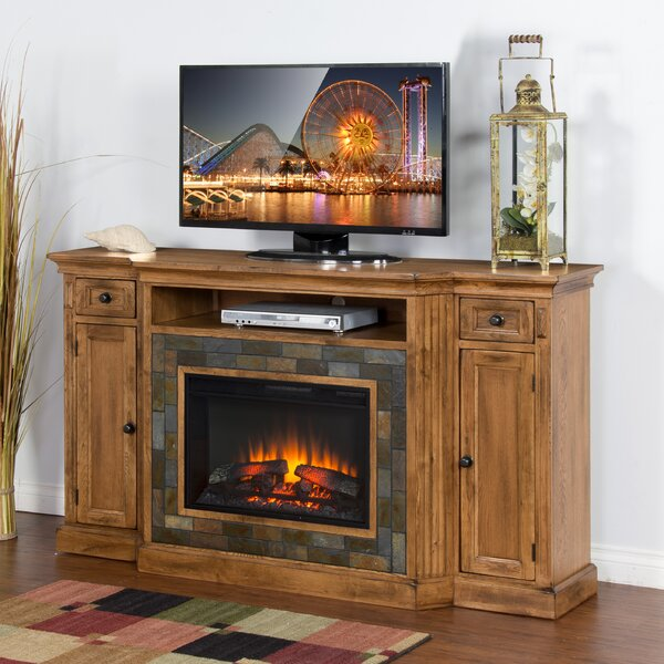 Fresno 72 TV Stand with Fireplace by Loon Peak