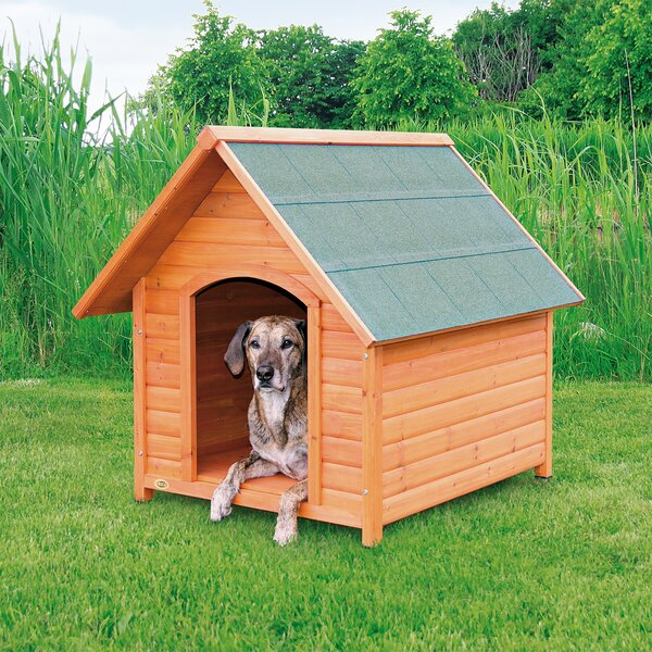 Lugo Log Cabin Dog House by Tucker Murphy Pet