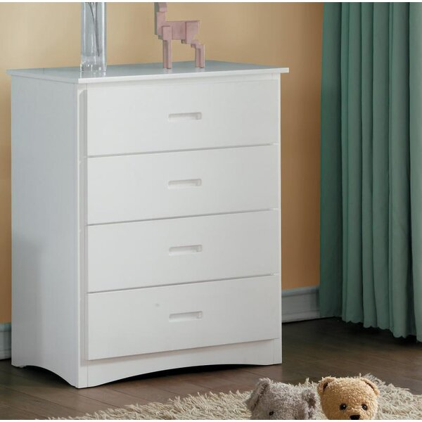Winnie 4 Drawer Chest by Harriet Bee