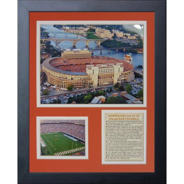 University of Tennessee Neyland Stadium Framed Memorabilia by Legends Never Die