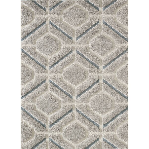 Cope Gray Area Rug by Wrought Studio