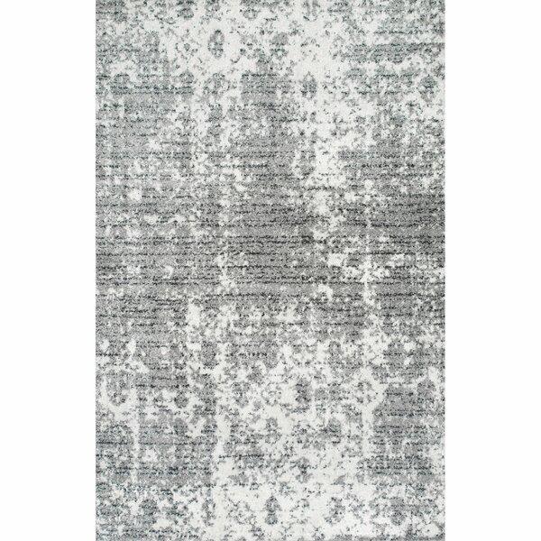Bloom Gray Area Rug by Zipcode Design