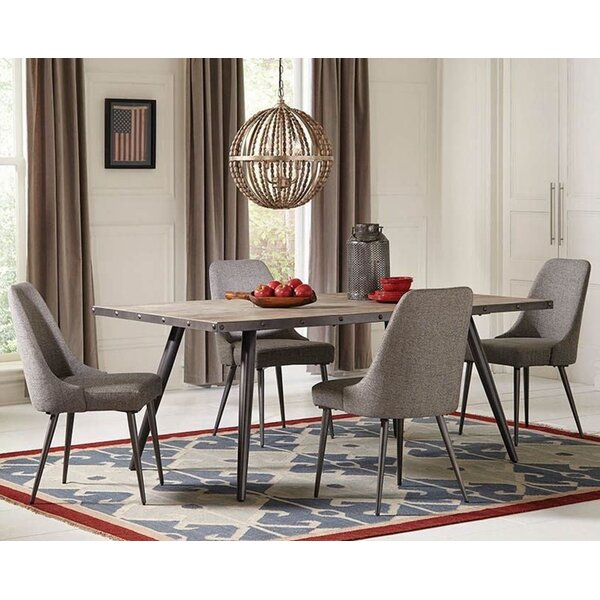 Macedo 5 Piece Solid Wood Dining Set by 17 Stories 17 Stories