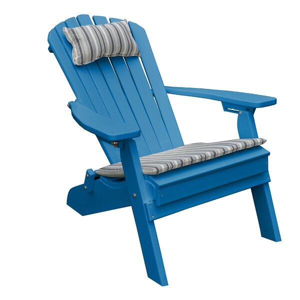 Bayside Plastic Folding Adirondack Chair by Radionic Hi Tech