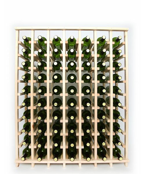 Lurmont Series 70 Bottle Floor Wine Bottle Rack by Rebrilliant Rebrilliant