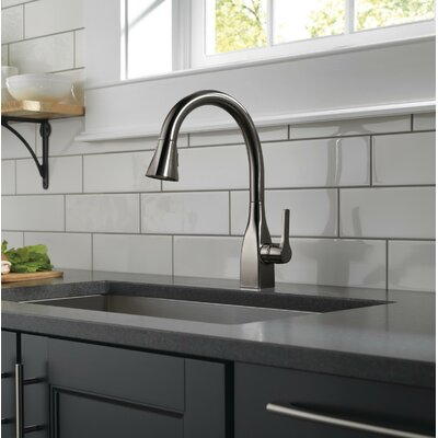 Delta Kitchen Faucet Single Handle Docking Seal Stainless Faucets