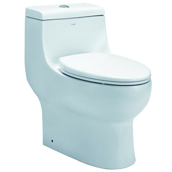 Dual Flush Elongated One-Piece Toilet by EAGO