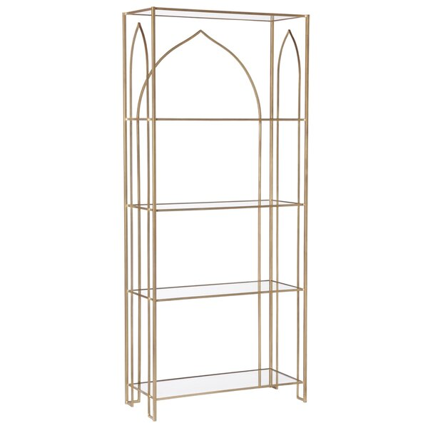 Dunkley Etagere Bookcase By Everly Quinn