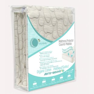 Compare Pebble Puff Hypoallergenic Waterproof Mattress Cover By Forty-Winks