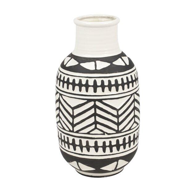 Dickson Waterproof Ceramic Table Vase by Union Rustic