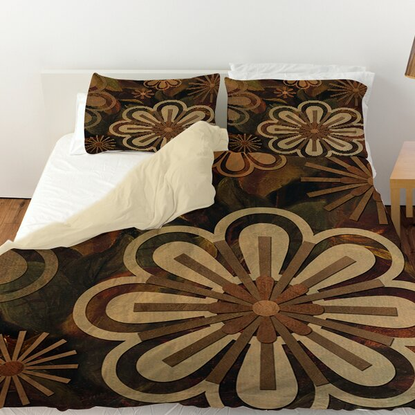 Floral Abstract II Duvet Cover by Manual Woodworkers & Weavers
