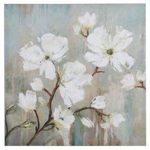 'Sweetbay Magnolia' Painting Print on Canvas by Nielsen Bainbridge