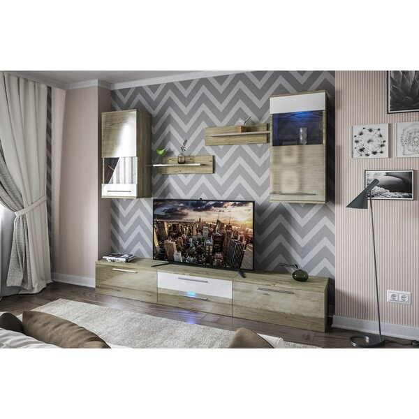 German Entertainment Center For TVs Up To 88