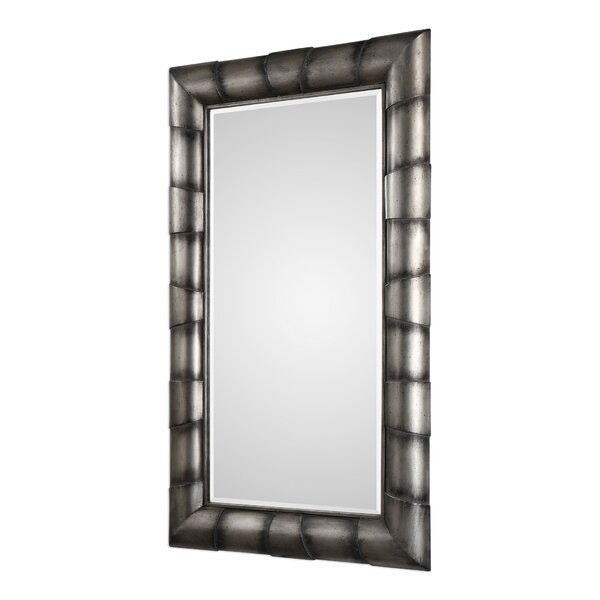Stacked Pipe Accent Mirror by Bloomsbury Market