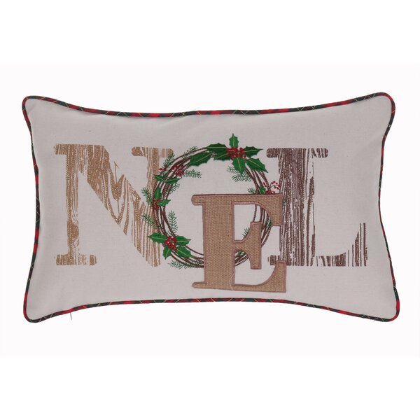 Spafford Noel Lumbar Pillow by Laurel Foundry Modern Farmhouse