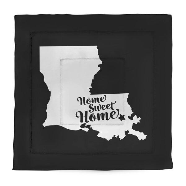 Home Sweet New Orleans Microfiber Comforter - Queen Size