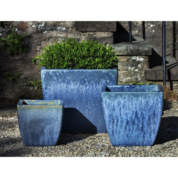 Almeida 3-Piece Terra Cotta Pot Planter Set by Bloomsbury Market