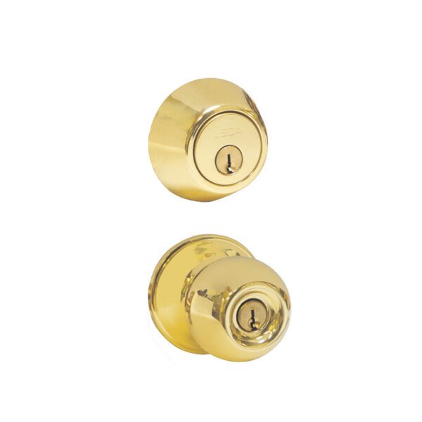 Single Cylinder Handlesets Interior Knob by Verona Home Design