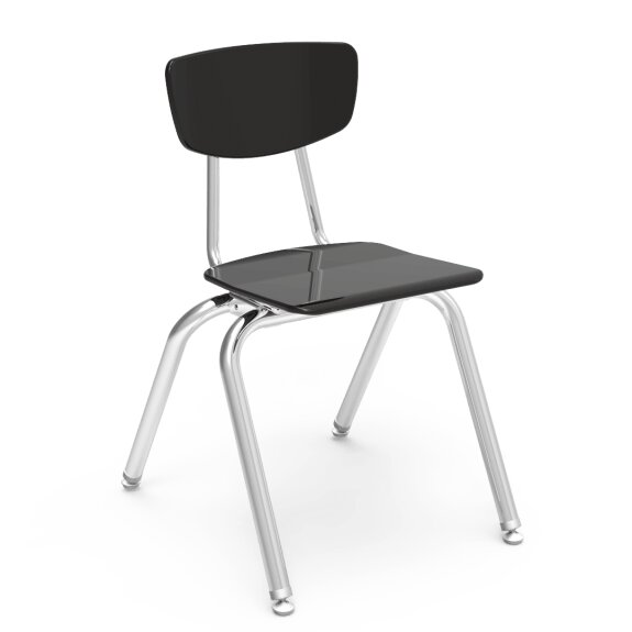 3000 Series Plastic Classroom Chair (Set of 4) by