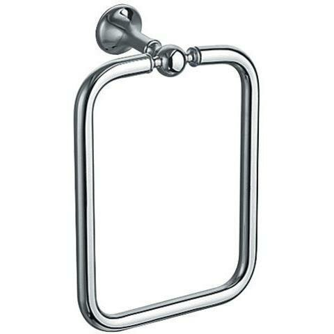 Aguilera Wall Square Towel Ring by Darby Home Co