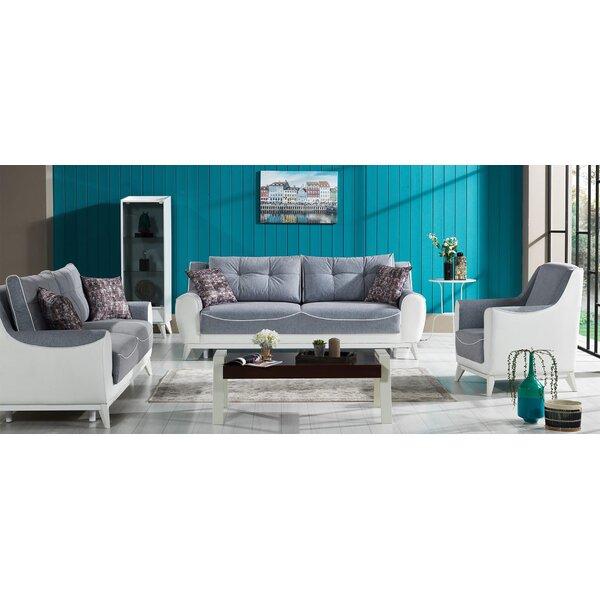 Aria Sleeper Configurable Living Room Set by Wrought Studio