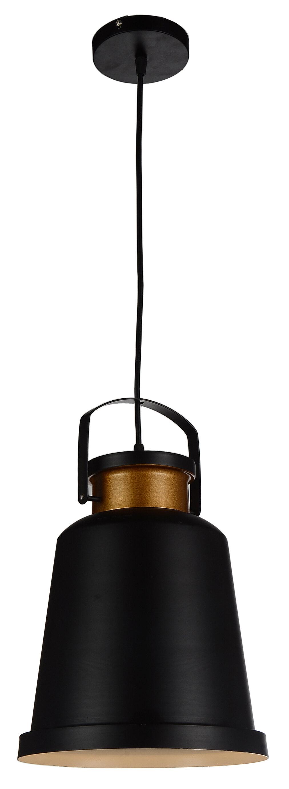 Cwilighting Elisa 1 Light Single Bell Pendant Wayfair