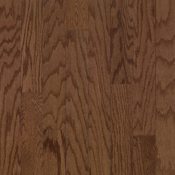 Turlington 5 Engineered Oak Hardwood Flooring in Saddle by Bruce Flooring