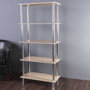 Review Adelinna 5 Tier Etagere Bookcase by Latitude Run