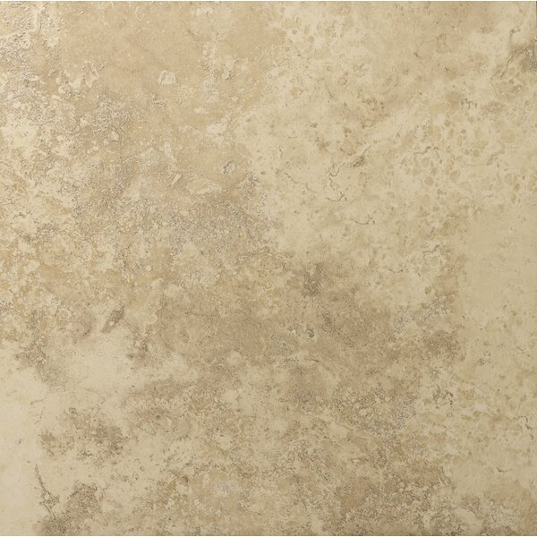 Taverna 20 x 20 Porcelain Field Tile in Beige by Emser Tile
