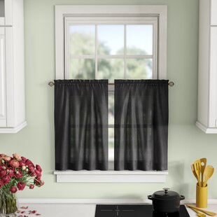 Window Valances, Café & Kitchen Curtains You'll | Wayfair on decorating above kitchen window ideas, decorating ideas for living room, decorating ideas for fireplaces, decorating ideas for decks, decorating ideas for doors, country decorating with old windows, decorating ideas for floors, decorating ideas for mirrors, decorating ideas for dining room, decorating ideas for vaulted ceilings, decorating ideas for bedrooms,