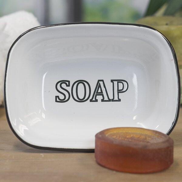 Vintage Enamelware Soap Dish by American Mercantile