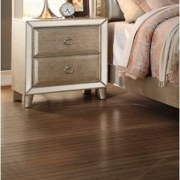 Arin 2 Drawer Nightstand by House of Hampton