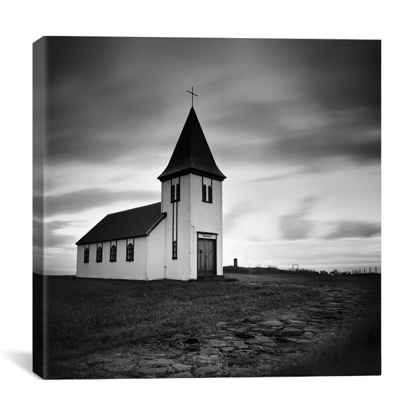 Iceland Hellnar Church by Nina Papiorek Photographic Print on Wrapped Canvas by iCanvas