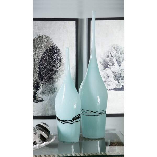 2 Piece Table Vase Set by Corrigan Studio