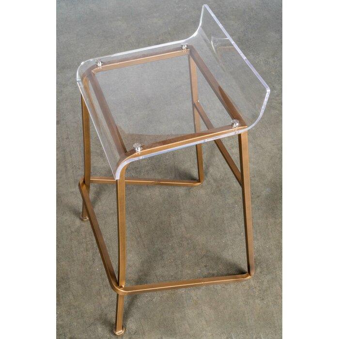 Sensational Acrylic Counter Stool Machost Co Dining Chair Design Ideas Machostcouk